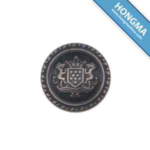 Fashion and High Quality Electroplating ABS Button