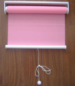 Spring Manual Fabric Roller Blind Inside / Outside UV-Resistant pictures & photos