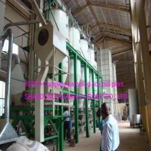 20tpd 50tpd 100tpd 200tpd Complete Parboiled Rice Mill pictures & photos