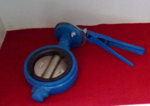 Lever Hand Operated Cast Iron Butterfly valve