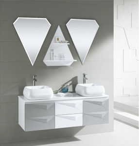 Bathroom Furniture Double Basins Bathroom Cabinet pictures & photos