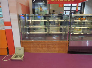 Four Layers Stainless Steel Pastry Display Refrigerated Cooler Showcase pictures & photos