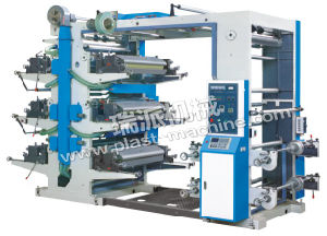 Six Color Flexographic Type Film Printing Machine pictures & photos