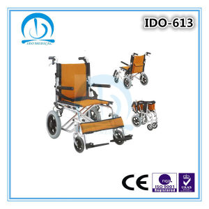 Lightweight Foldable Aluminum Manual Wheelchair pictures & photos