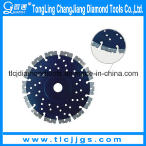 Laser Granite Silent Saw Blade with Flange pictures & photos