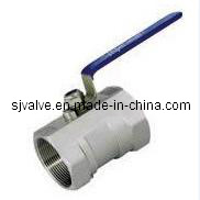 Stainless Steel Reduce Bore Floating Ball Valve pictures & photos