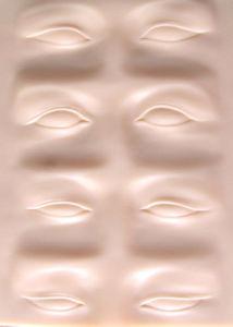 Permasnent Mdakeup Ccosmetics 3D Eyebrccow Tatdtoo Practice Skin pictures & photos
