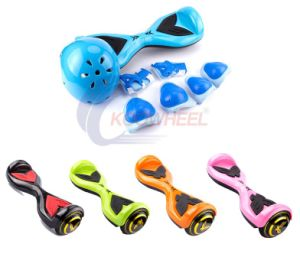 Koowheel Electric Balance Scooter / Skateboard for Kid with Protect Helmet pictures & photos