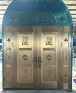 Top Luxury Stylish Entrance Steel Door pictures & photos