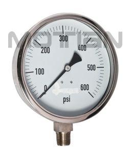 """6"""" Pressure Gauge Stainless Steel of Pressure Gauge pictures & photos"""