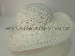 Paper Straw Wide Brim Hat / Sun Hat /Summer Hat (DH-LH9121) pictures & photos