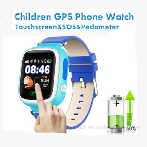 Touch Screen 1.22inch Kids GPS Watch Tracker for Promotion Gifts (D15) pictures & photos