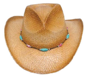 western straw cowboy hat pictures & photos