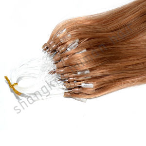 Human Hair Micro Loop Ring Natural Hair Extensions