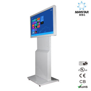 Advertising Rotating Information Kiosk USB Capacitive Touch Screen Panel pictures & photos