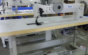 Long Arm Extra Heavy Duty Walking Foot Lockstitch Machine pictures & photos