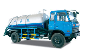 China Best Toillet Vacuum Truck of 10-12m3 pictures & photos