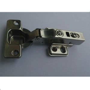 Stainless Concealed Hydraulic Cabinet Hinge for Furniture Ss109