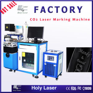 Hot Sale Desk Model CO2 Laser Marking Machine for Nonmetal pictures & photos
