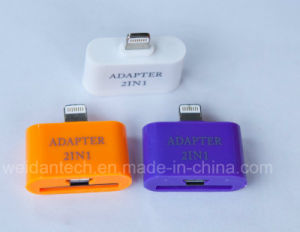 2 In1 Lightning Micro 30p USB Adapter pictures & photos