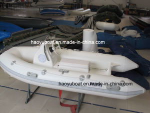 Small Cheap Rib Boat, Fishing Boat, Fiberglass Boat, PVC and Hypalon Boat, Rib300 pictures & photos