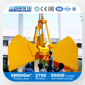 Two or Multi-Clamshell Electro-Hydraulic Grab for Sale (DYZ) pictures & photos