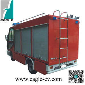 Electric Fire Truck, CE, Manual Drive System, Small for Narrow Streets, Residential Community, with Fire Enginee pictures & photos