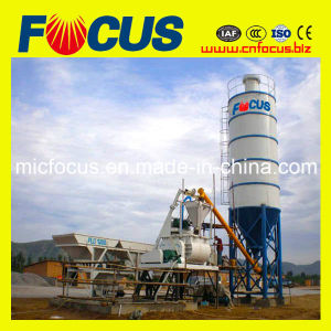 Hzs25 Mini Concrete Mixing Plant with 25m3/H Capacity pictures & photos