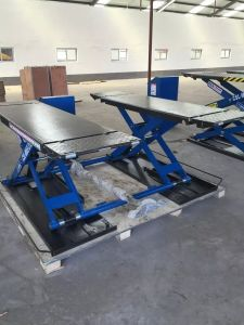Ultra Thin Movable Scissor Car Lift