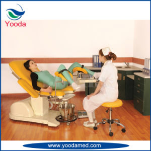 Electric Hydraulic Gynecology Exam Table pictures & photos