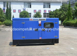 Soundproof 60Hz Single-Phase 220V Diesel Generator Sets pictures & photos