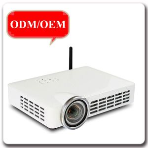 New Design Office Equipment Professional TV Christmas DLP Projector pictures & photos