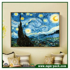 Van Gogh Starry Night Painting on Matt Canvas pictures & photos