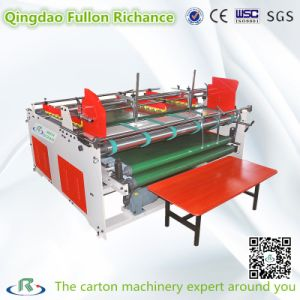 Semi-Auto Corrugated Pizza Box Folding Gluer Machine pictures & photos