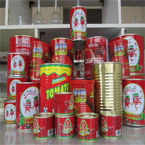 Hot Sell 70g - 4500g Concentrated Tomato Paste