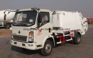 Sinotruck 5m3 Capacity Compactor Garbage Truck