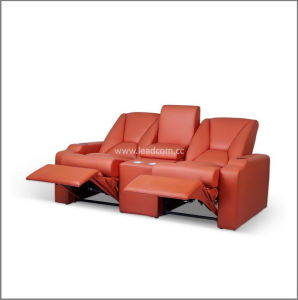 China Leadcom Luxury Leather Electric Home Cinema Recliner