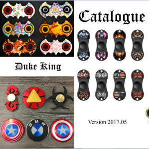 Printed Fidget Spinner Hand Spinner Finger Spinner Toys EDC Bearing Brass Finger Gyro Copper Gold Alloy Titanium Spinners pictures & photos