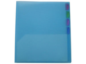 Index Tab Divider, Plastic File Folder (B3112) pictures & photos