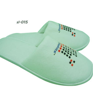 Hotel Amenities Slippers 4 Hotel Slipper Factory OEM Non Woven Slipper pictures & photos