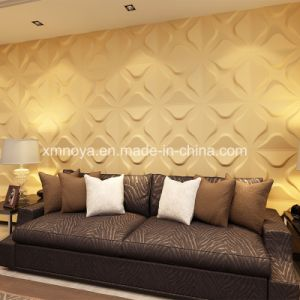 Acoustic Insulation Cheap 3D Panel for Living Room Decoration pictures & photos