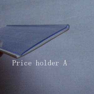 Commercial Refrigeration PVC Price Holder Original Material pictures & photos