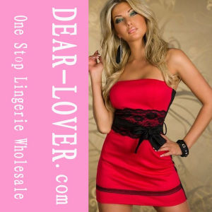 2016 Red Tube Sex Women Party Dress pictures & photos