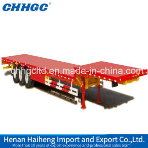 Customized Lowbed Semi Trailer, Low Bed Truck Trailer, Widely Used Low Bed Semi Trailer pictures & photos