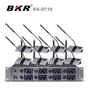Eight Channel Digital Wireless Meeting Microphone Kx-D718