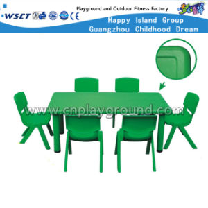 Kindergarten Plastic Chair and Table Furniture in School (HLD-2306) pictures & photos