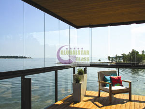6mm 8mm 10mm 12mm Frameless Tempered Glass Balustrade for Balcony pictures & photos