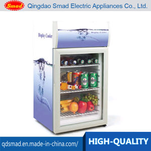 52L Mini Desktop Display Chiller Showcase with Lamp Type pictures & photos