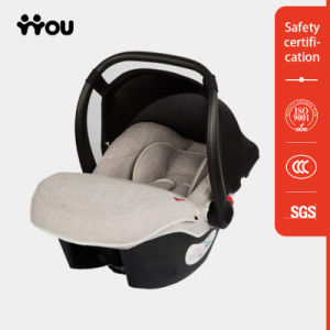 Grey Portable Car Seat with Linen Cloths pictures & photos