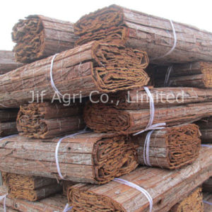 Natural High Quality Bark Fencing for Gardening pictures & photos